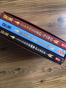 LOT/3 Boxed Book Set: Hunger Games Trilogy by Suzanne Collins - Paperback