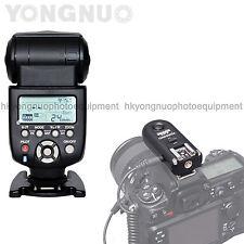 Yongnuo YN-560 III Wireless Flash Speedlite + RF-603 Trigger Receiver for Nikon