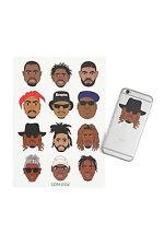 Goat Crew Mini Rapper Sticker Pack Tupac Biggie Drake Kanye The Weekend Kendrick