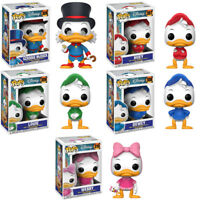 DuckTales Entenhausen 5 Figuren Set Disney POP! #306 - #310 Vinyl Figur Funko