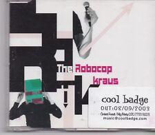The Robocop Kraus-Fashion cd maxi single