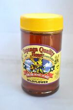 1lb Raw Honey WILDFLOWER FLORAL SOURCE Unfiltered Honey BEST NATURAL Kosher