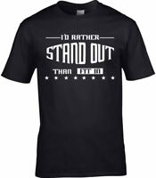 Emo Goth Men's T-Shirt Outsider STAND OUT Different Success Strange Gothic Gift