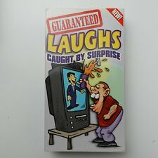 Guaranteed Laughs Caught by Surprise VHS Tape