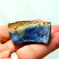 Large Boulder Opal with Blue Green Red Fire Queensland Australia Unpolished 27g