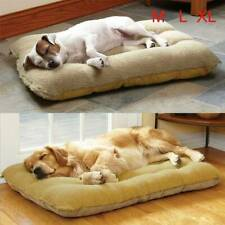 Large Dog Bed Mattress Thick Pet Cats Cushion Soft Winter Warm Fleece Detachable