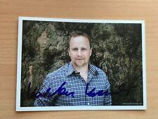 Autogrammkarte - KARSTEN KRAMER - SCHAUSPIELER - orig. signiert #467