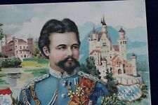 alte AK König Ludwig 2. König von Bayern 1915