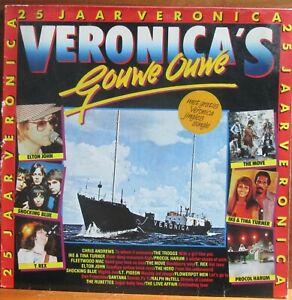 LP - VERONICA'S GOUWE OUWE - 25 JAAR VERONICA = VARIOUS ARTISTS - T.REX / MOVE