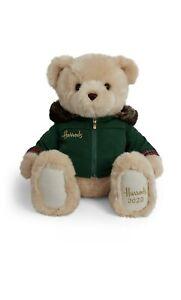 "Harrods 2020 Foot Dated 30cm Christmas Teddy Bear Nicholas 13"" BNWT BRAND NEW"