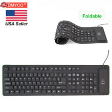 Foldable Ultra Thin USB Mini Wired Keyboard for Laptop PC Computer Notebook Mac