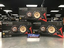 "KENWOOD EXCELON XR-1603HR COMPONENT SPEAKER SYSTEM 6-1/2"" 1"" SOFT DOME TWEETER"