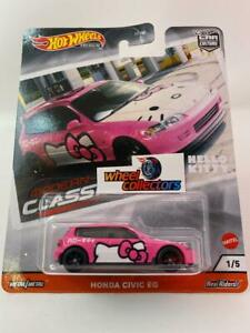 SALE! Honda Civic EG Modern Classics Hello Kitty * 2020 Hot Wheels Car Culture *