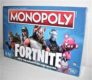 Hasbro's Monopoly Fortnite Version - New & Sealed