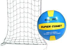 Volleyballnetz Beachvolleyball Netz Trainingsnetz Ball Set mit Tasche Volleyball