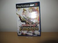 Dynasty Warriors 5: Empires  (PS2) (New)  sealed pal version