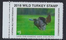 2018 National Wild Turkey Federation Stamp