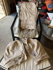 Bugaboo Donkey Fabric Set, Tan, 4 Pieces, Lightly Used