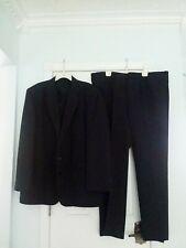 Vintage Men's Black Polyester Western Suit Sheplers Urban Cowboy