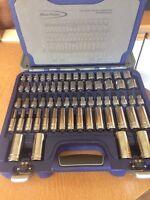 Snap On Blue Point 77 pcs 3/8 General Service Kit Socket Set 277MBPGSS Free P&P