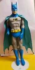 "1988 DC BATMAN 15"" TALL ACTION FIGURE VERY GOOD CONDT. WITH STAND VINTAGE DC TOY"