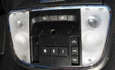 2012 Dodge Charger interior over head control console switch with lights