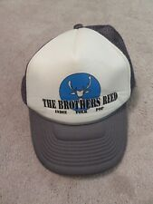 THE BROTHERS REED Indie Folk Pop HAT Trucker Snapback Mesh Concert Tour Shirt cd