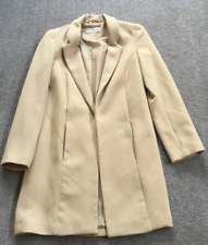 MISS SELFRIDGE Beige Coat UK 6 EU 34 Ladies Girls Womens
