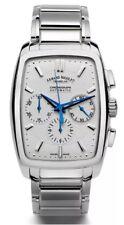 Armand Nicolet TM7 Uhr Chronograph Automatik - Silber - wie neu - UVP 7.700 €