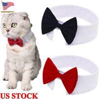 Dog Cat Pet Tie Puppy Bow Tie Necktie Clothes Kitten Handsome Necktie  Festival