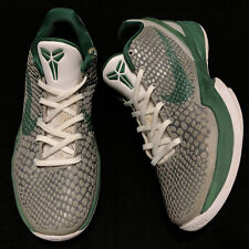 Beaters 2010 Nike Zoom Kobe VI 6 Celtics Sz 8 Grey George Green White 429659 009