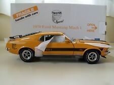DANBURY MINT - 1970 FORD MUSTANG MACH 1 TWISTER SPECIAL - 1/24 DIECAST MODEL