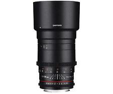 Samyang 135mm T2.2 Ed UMC VDSLR Cine Lens Canon EF Mount