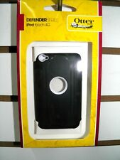 OTTER BOX DEFENDER BLACK/WHITE IPOD TOUCH 4TH GENERATION ORIGINAL NEW IN BOX