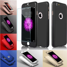 Shockproof Hybrid Silicone Case Cover for Apple iPhone X 8 7 6s Plus Iphonese Black