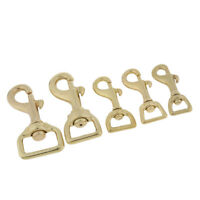 Luggage Bag Tent Rotary Buckle Keychain Brass Trigger Hooks Swivel Snap Clip