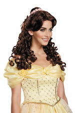 Disney's Beauty and Beast Belle Ultra Prestige Adult Wig Costume Cosplay Curly