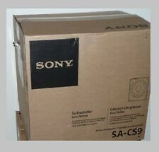 "Sony SA-CS9 10"" Home Theater Active Subwoofer, Sub Speaker"