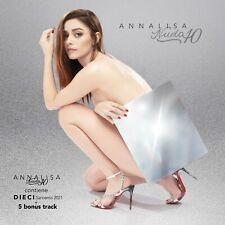 ANNALISA Nuda 10 (Sanremo 2021) CD NEW .cp