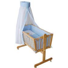 Berceau bébé Lit bébé en bois nacelle lit d'appoint Colori literi bleu Lit bébé