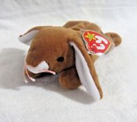 TY Beanie Baby - 1995 Ears The Rabbit 8.5 in - NEW WITH TAGS>FREE SHIPPING