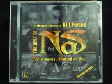 J. Period & Nas - The Best Of Nas CD Explicit  Sealed Jewel Case Cracked