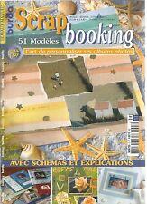 BURDA SCRAPBOOKING N°03 - BOUT'CHOUX / LA PLAGE / BLEU, BLANC, NEIGE / MINOU