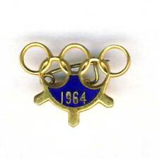 1964 TOKYO Olympics PIN BADGE Olympic Games JAPAN Olympiad