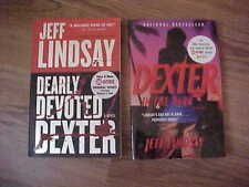 2 Jeff Lindsay DEARLY DEVOTED DEXTER + DEXTER IN THE DARK - Appear Unread - PBs