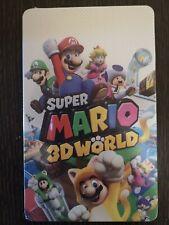 Super Mario 3D World Steelbook (SOLO CAJA)