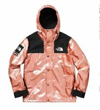 Supreme/The North Face Metallic Mountain Parka - Rose Gold - Size Medium jacket
