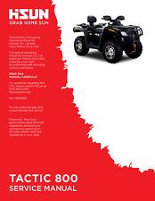 Hisun HS Tactic 800 ATV Service Owners & Parts CD Coleman Trail Tamer 800 MSA