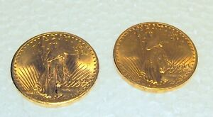 US  $20.00 GOLD COINS CIRCA 1913 D & 1928 EAGLE 66.80 GRAMS PRICE IS FOR 1 ONLY