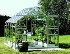 *Gewächshaus* Treibhaus Pergart Diana 8300 in alu-blank mit Glas